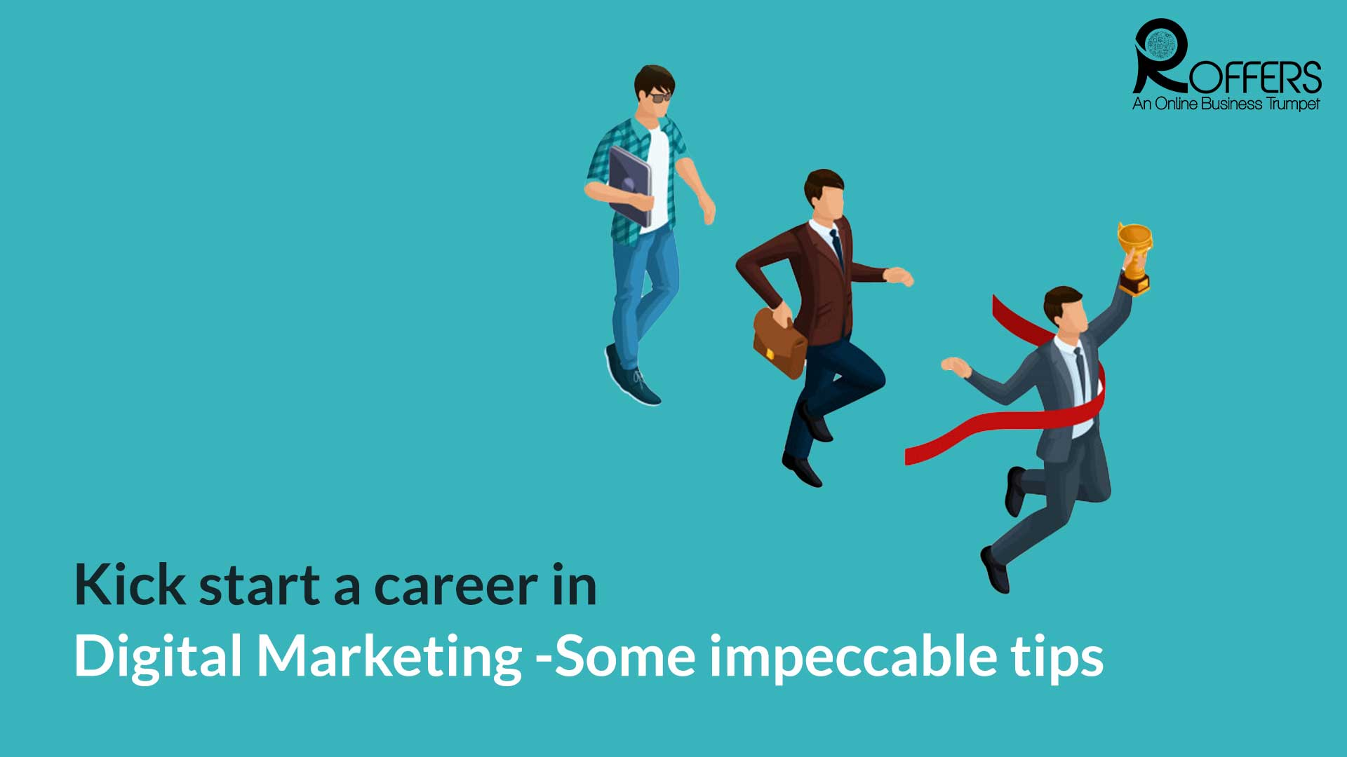 kick start a career in digital Marketing